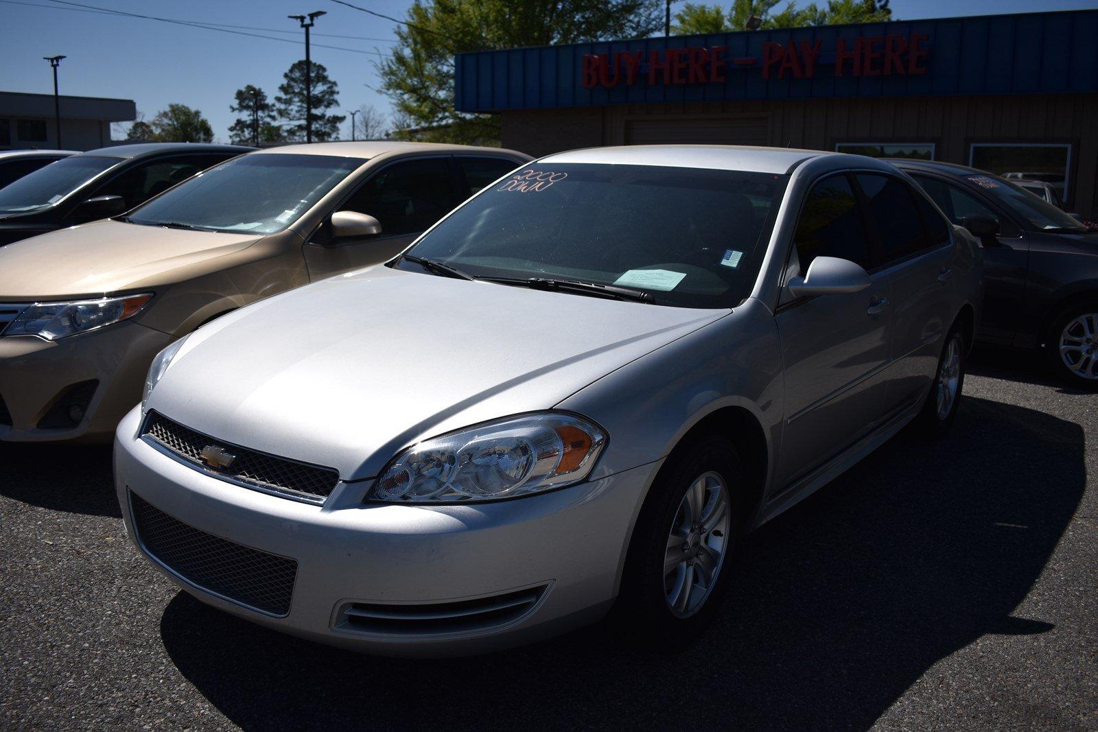 Featured Used 2014 Chevrolet Impala Limited LS Sedan for sale in Waycross, GA