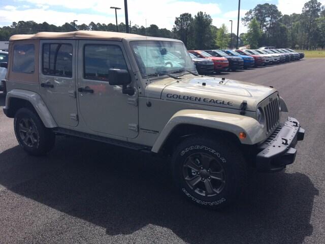 Featured new 2018 Jeep Wrangler JK for sale in Waycross, GA