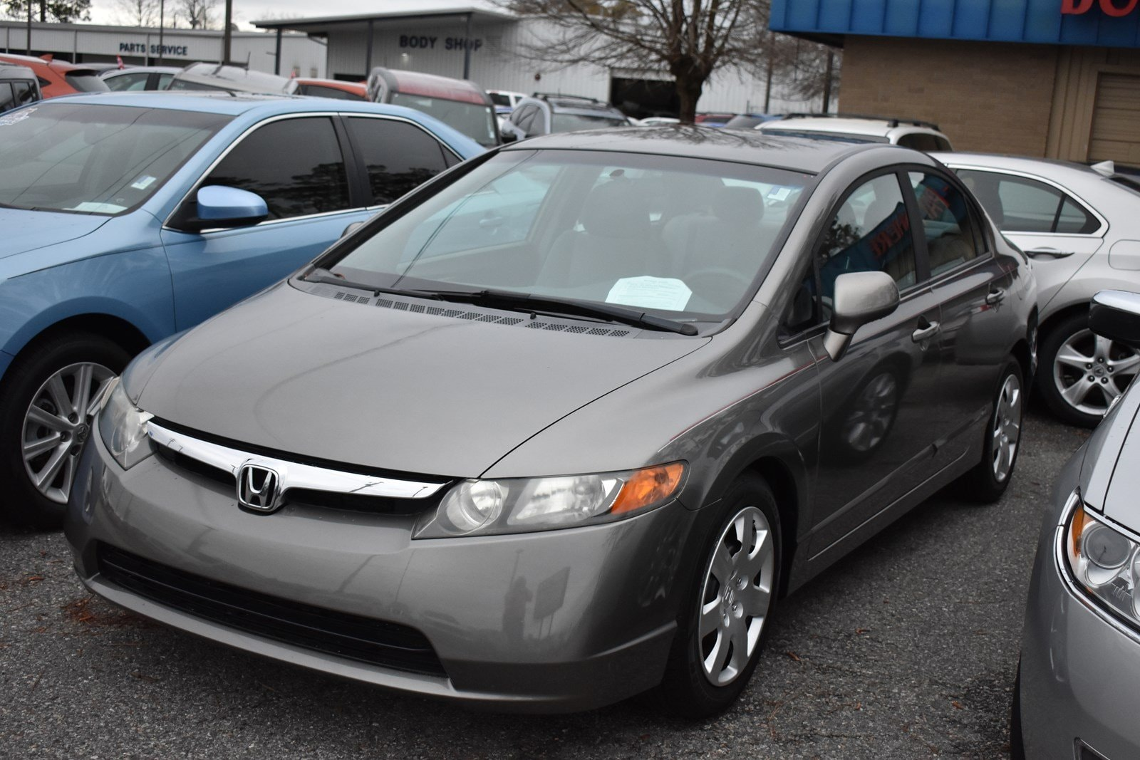 Featured Used 2007 Honda Civic LX AT LX for sale in Waycross, GA