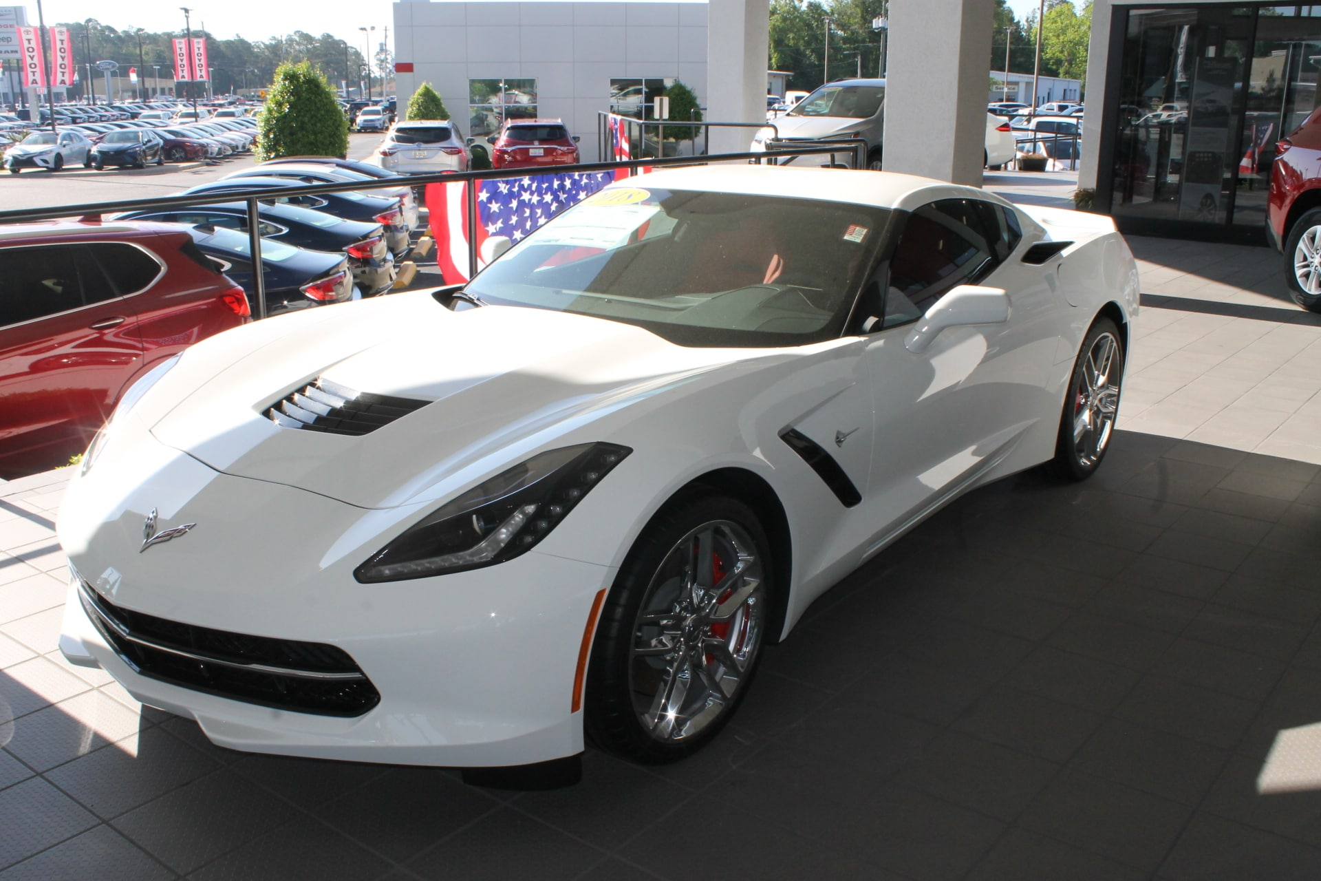 2018 Chevrolet Corvette Stingray Z51 Coupe