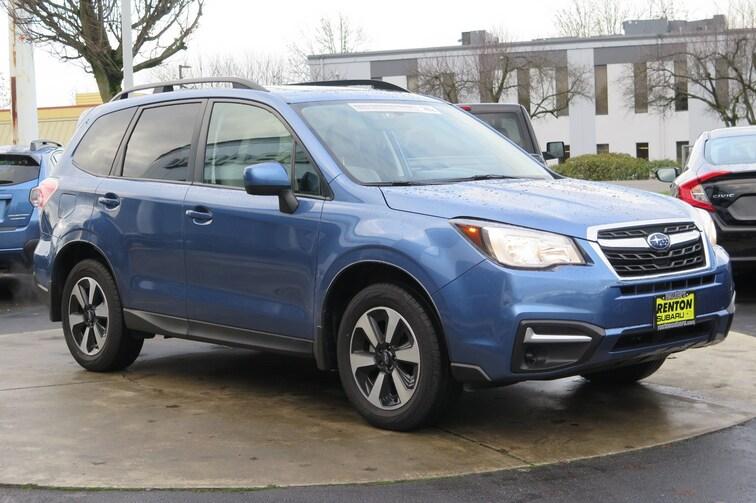 2018 Subaru Forester 2.5i Premium SUV For sale near Tacoma WA