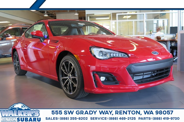 New 2018 Subaru BRZ Limited Coupe For sale/lease Renton WA