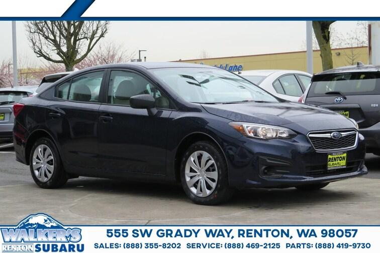 New 2019 Subaru Impreza 2.0i Sedan For sale/lease Renton WA