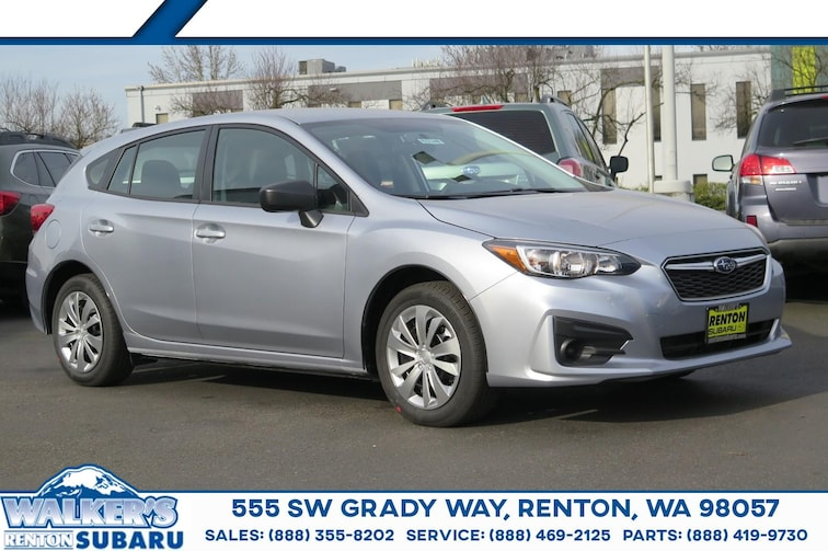 New 2019 Subaru Impreza 2.0i 5-door For sale/lease Renton WA