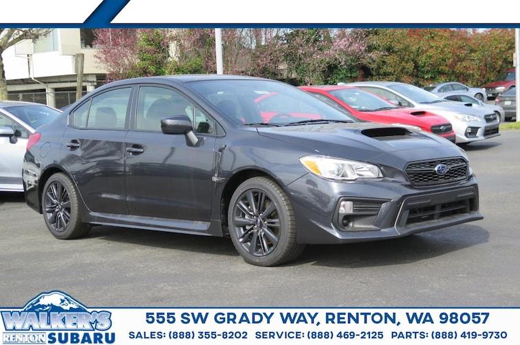 New 2019 Subaru WRX Sedan For sale/lease Renton WA