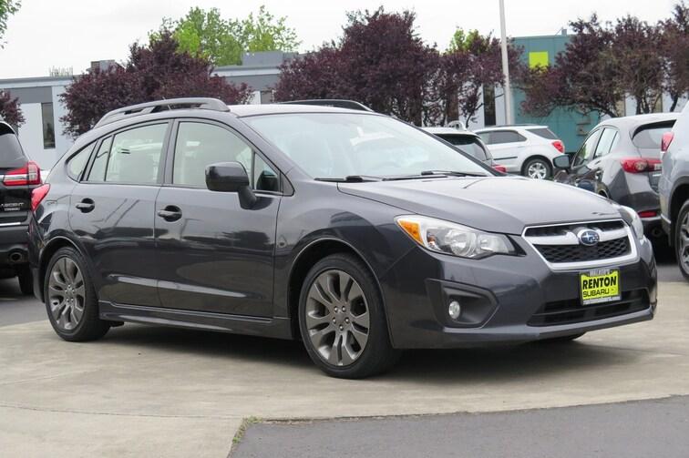 2013 Subaru Impreza 2.0i Sport Limited w/Moonroof Sedan