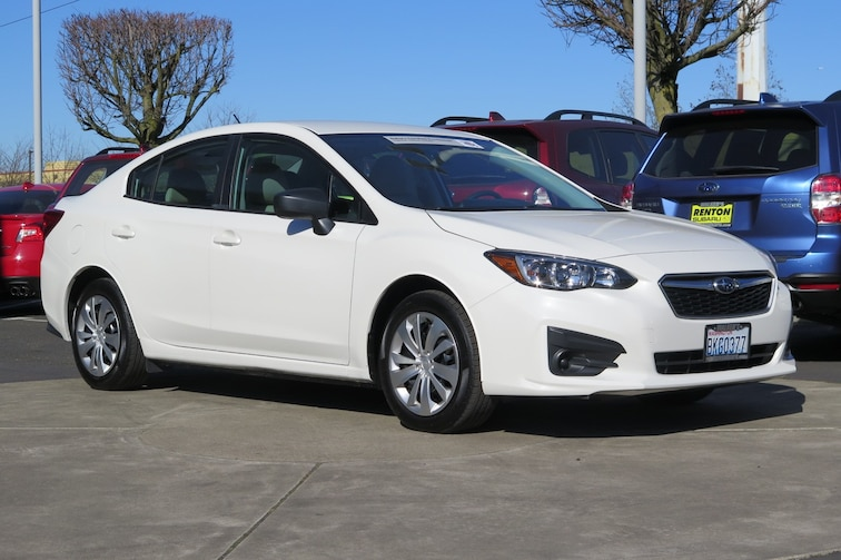 2018 Subaru Impreza 2.0i Sedan For sale near Tacoma WA