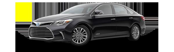 2016 Avalon Hybrid Cash Back Offer