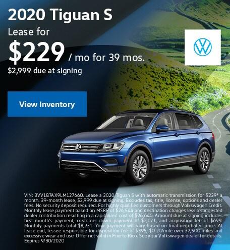 2020 Tiguan S
