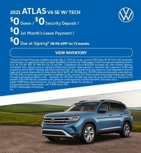 2021 Atlas V6 SE w/ Tech