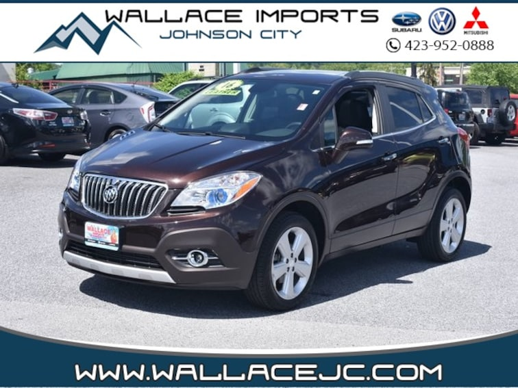 Used 2016 Buick Encore Leather SUV in Johnson City, TN