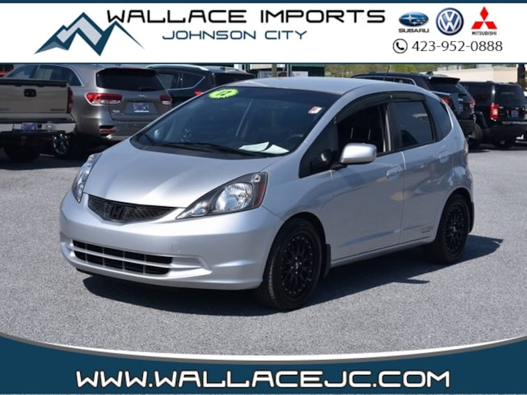 Used 2012 Honda Fit Base Hatchback in Johnson City, TN