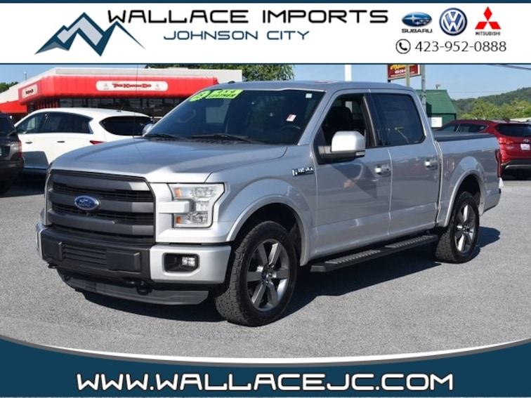 Used 2015 Ford F-150 Lariat Truck in Johnson City, TN