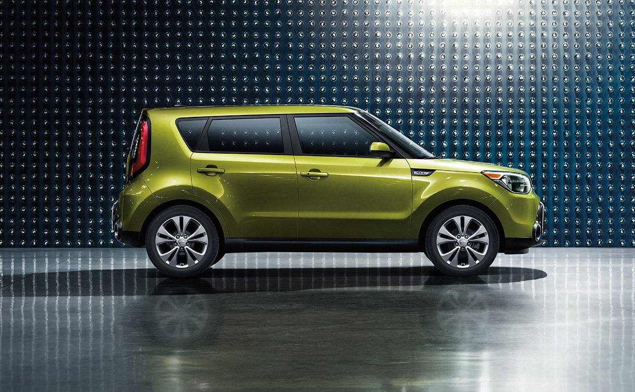 2016 Kia Soul Exterior in Green