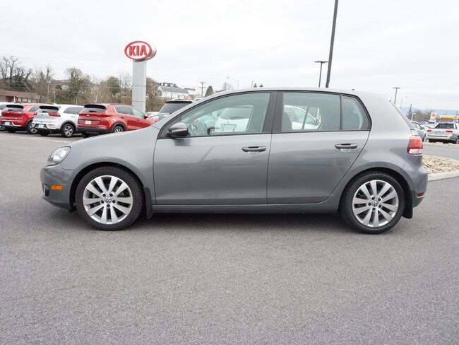 Pre-Owned 2014 Volkswagen Golf HB  TDI TDI  Hatchback 6A w/Sunroof and Navigation for sale in Bristol, TN