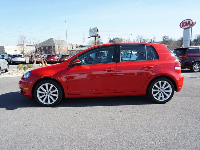 Certified Pre-Owned 2013 Volkswagen Golf HB TDI S/R NAV TDI  Hatchback 6A w/ Sunroof and Navigation for sale in Bristol, TN