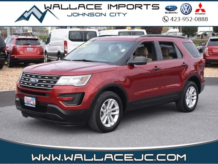 Used 2017 Ford Explorer Base SUV in Johnson City, TN