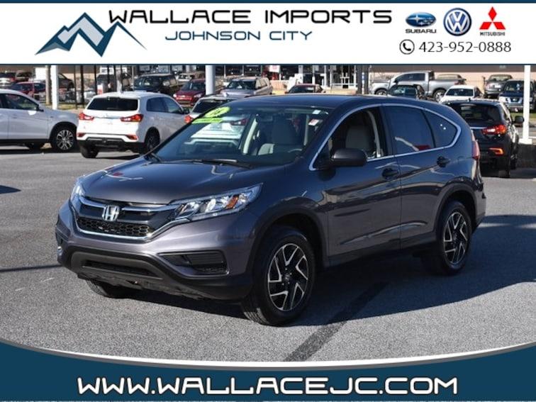 Used 2016 Honda CR-V SE SUV in Johnson City, TN
