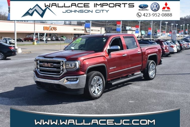 Used 2016 GMC Sierra 1500 SLT Truck in Johnson City, TN