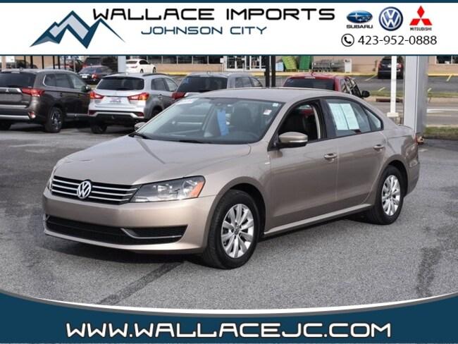2015 Volkswagen Passat 1.8T Wolfsburg Edition Sedan