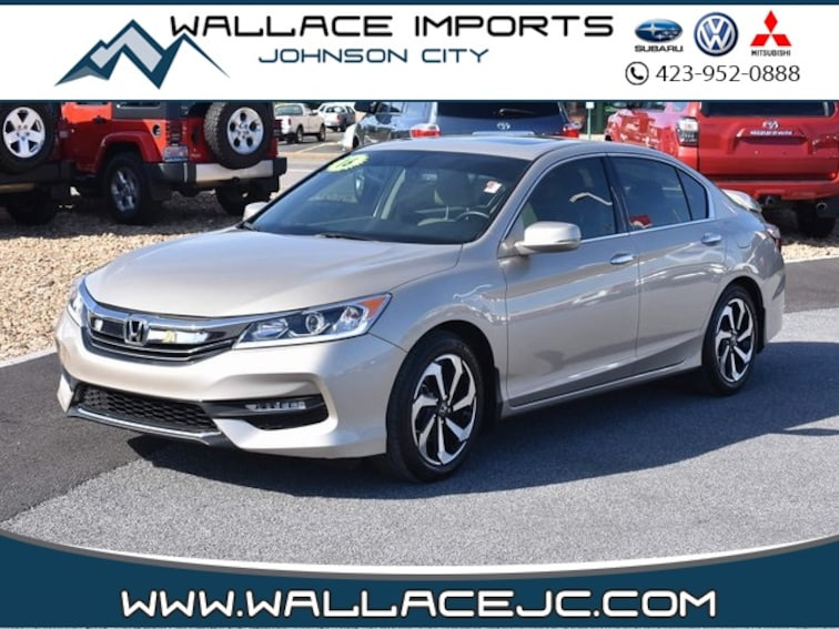 Used 2016 Honda Accord EX-L Sedan in Johnson City, TN