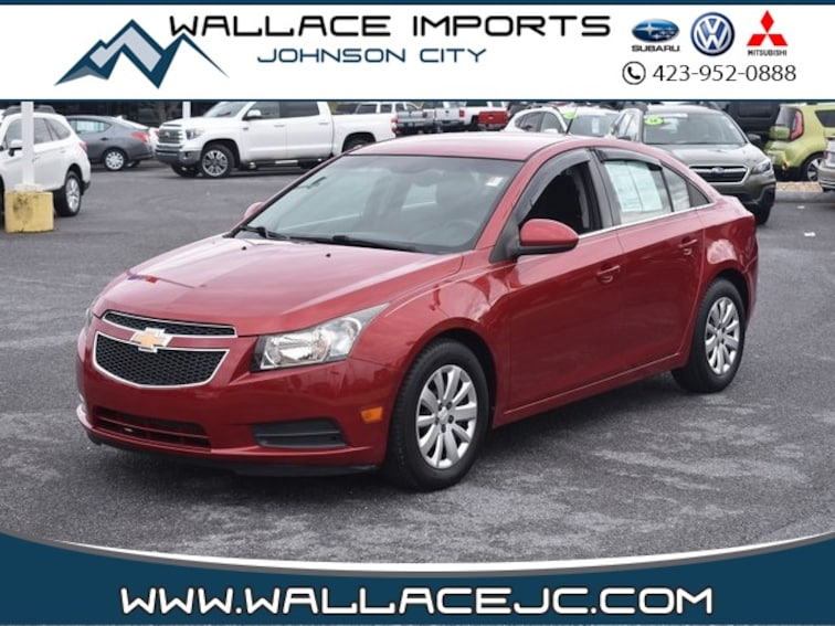 Used 2011 Chevrolet Cruze 1LT Sedan in Johnson City, TN