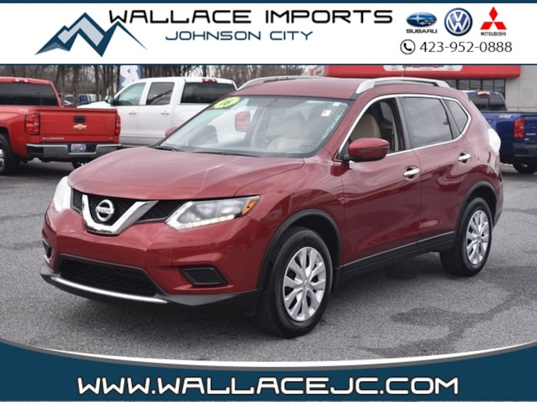 Used 2016 Nissan Rogue S SUV in Johnson City, TN