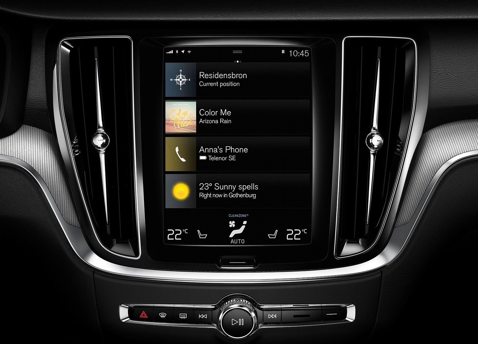 2021 Volvo S60 Infotainment System and Connectivity