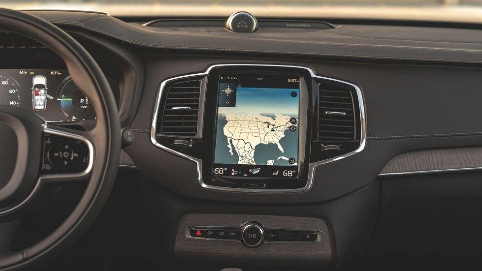 2021 Volvo XC90 Infotainment