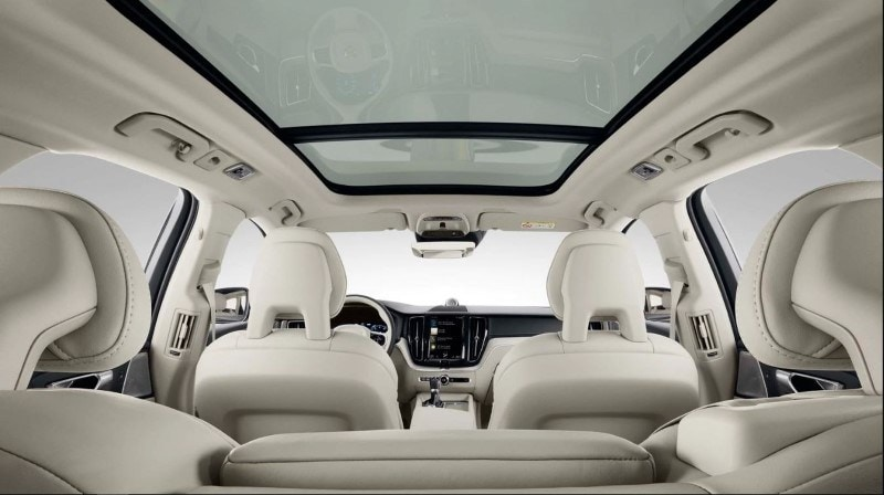 Panoramic Sunroof in the 2022 Volvo XC60