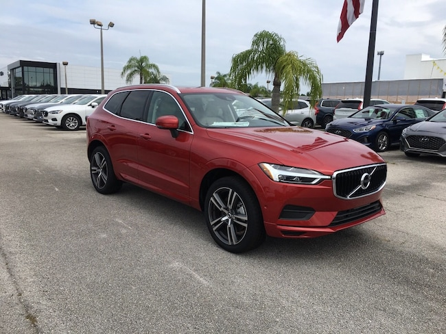 New 2019 Volvo XC60 T6 Momentum SUV For sale near West Palm Beach