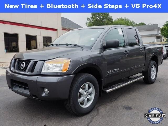 2012 Nissan Titan PRO 4X Truck Crew Cab