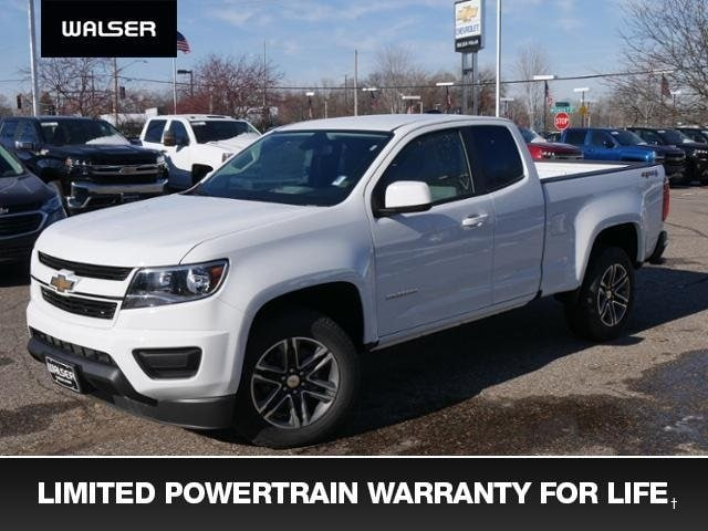 New 2019 Chevrolet Colorado WT Truck Extended Cab Minneapolis