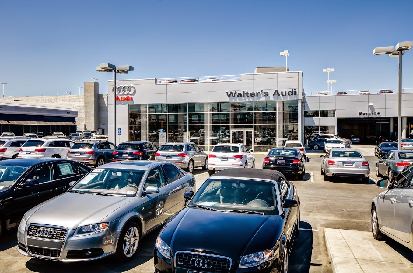 Directions to Walter's Audi in Riverside | Hours of Operation