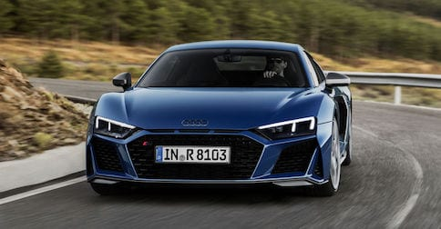 2018 Audi R8 coupe available near Orange County