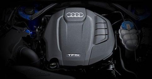 2018 Audi A4 4-cylinder TFSI engine