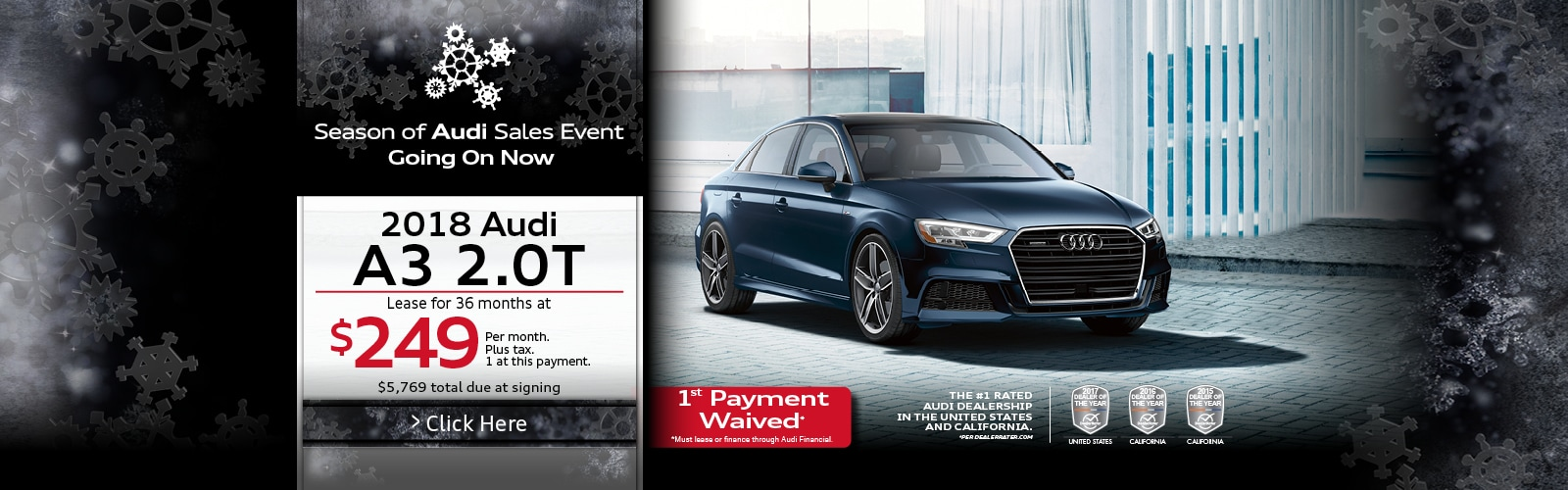 2018 Audi A3 lease specials