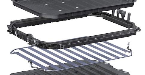 Advanced Audi e-tron® battery design