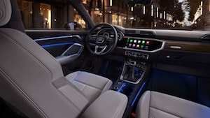 Cockpit of the 2019 Audi Q3