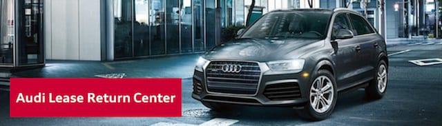 Audi Lease Return Center in Riverside