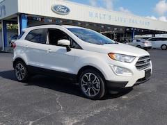 new 2018 Ford EcoSport SE SUV in Live Oak