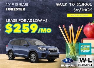 W & L Subaru | New Subaru dealership in Northumberland, PA 17857