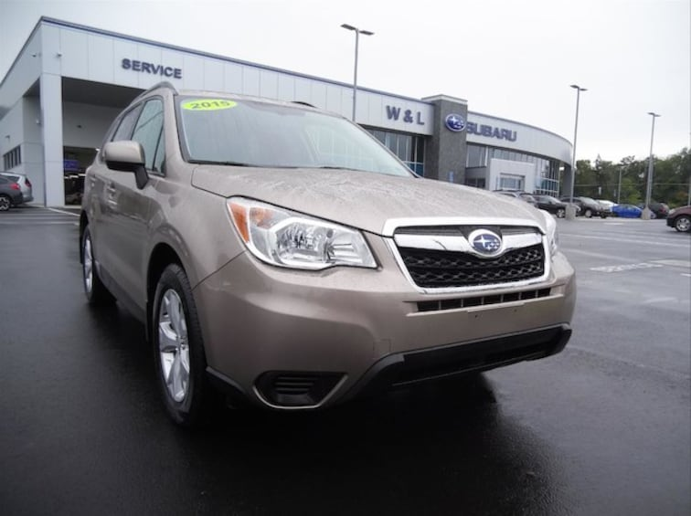 Certified Pre-Owned 2015 Subaru Forester 2.5i Premium W/All Weather Pkg SUV in Northumberland, PA