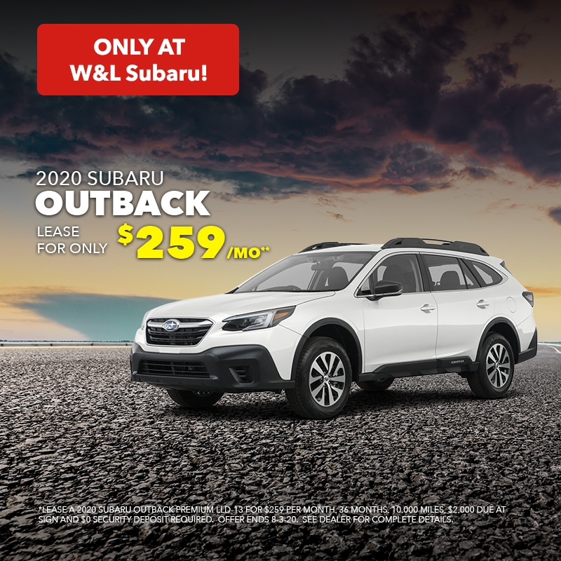 Outback Lease - July 2020