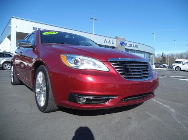 Used 2013 Chrysler 200 Limited Sedan for sale in Northumberland, PA