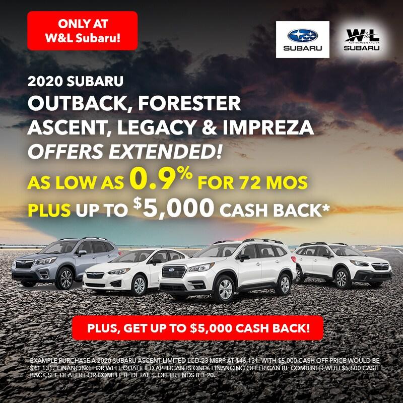 0.9% + $5,000 Offer July