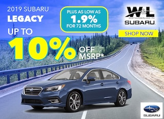 Up to 10% Off MSRP On ALL In-Stock Legacy Models*
