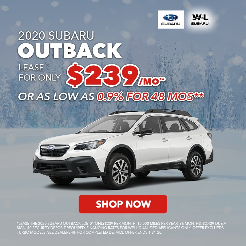 Dec Outback Lease