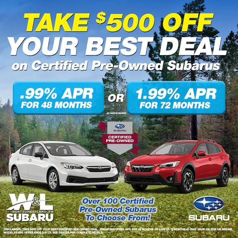 $500 Off Best Deal CPO