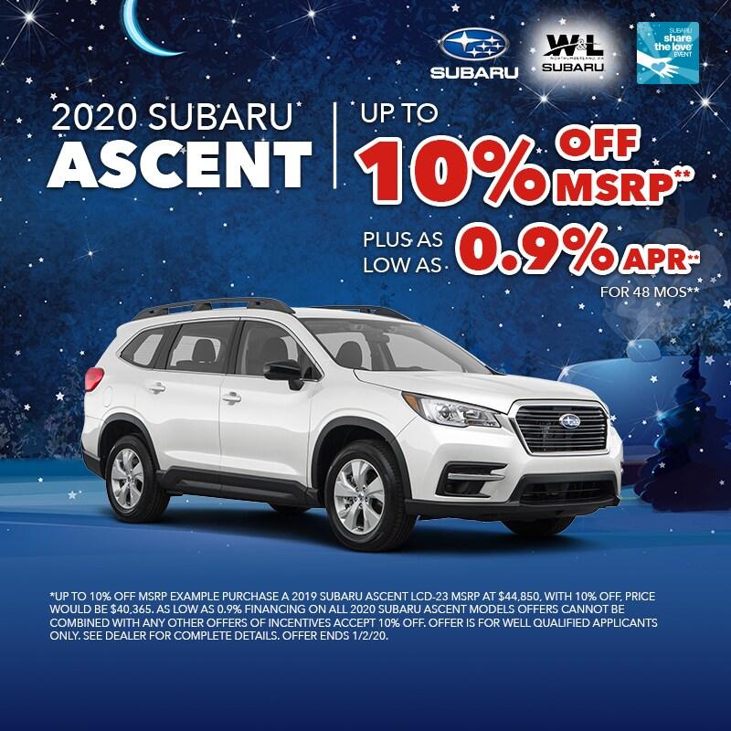 10% Off Ascent